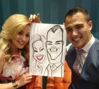 The Corporate Caricature Artist Manchester Uk